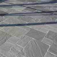 Kandla Grey Patio Pack Indian Sandstone Paving Slabs, 22mm ...