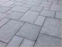 Granite Mid Night Grey Patio Paving Slabs, 20mm, 16.13m ...