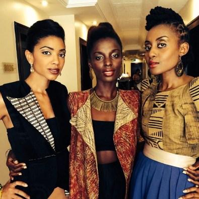 (l to right) Makena, Zainab & Ngozi