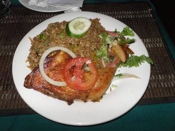 Fried rice & chicken 2010.