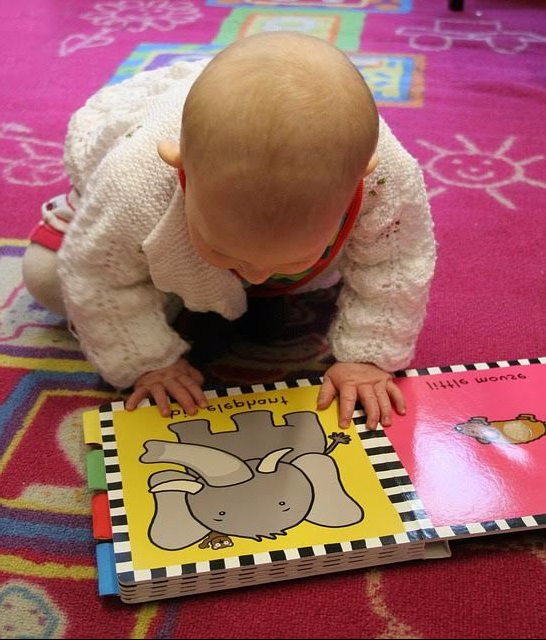 Reading to your baby