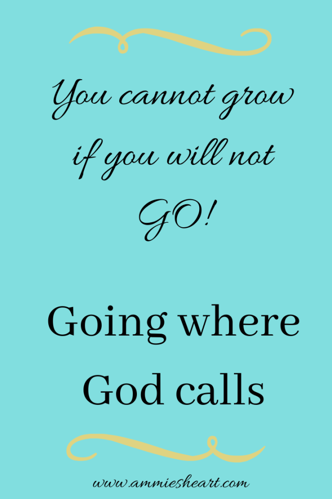 Operating in Faith walking in God's calling