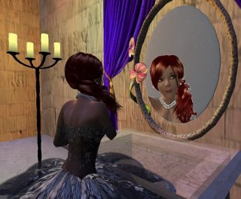 The magical mirror of Snow White godless mother