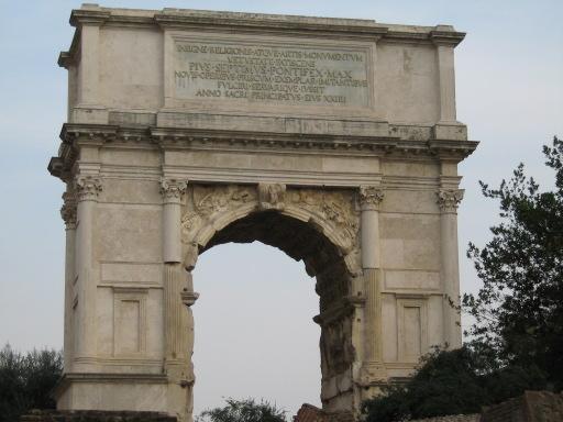 Arch of Titus, Rome