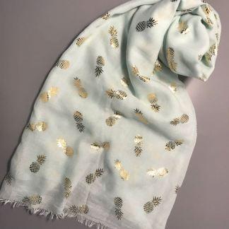 Mint Pineapple Sarong