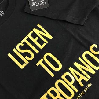 Listen to Mitropanos T-Shirt