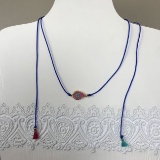 Teardrop Mati Necklace