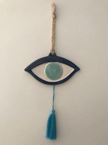 Blue Tasseled Mati