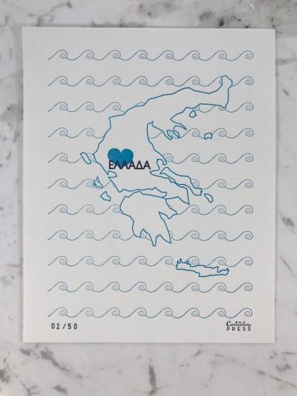 LoveGreece Print