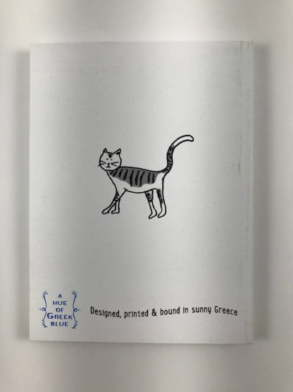 Cats Notebook Back