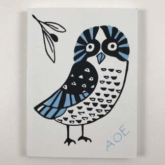 Owl Notebook Front