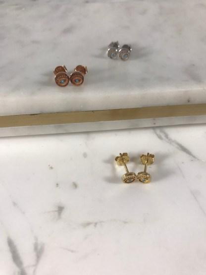 Thalia Round Earrings