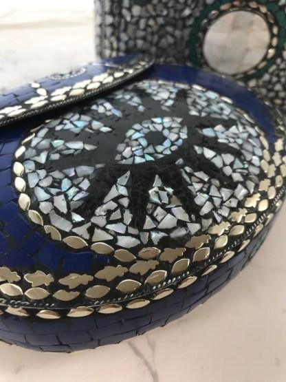 Mosaic Purse Round Alt