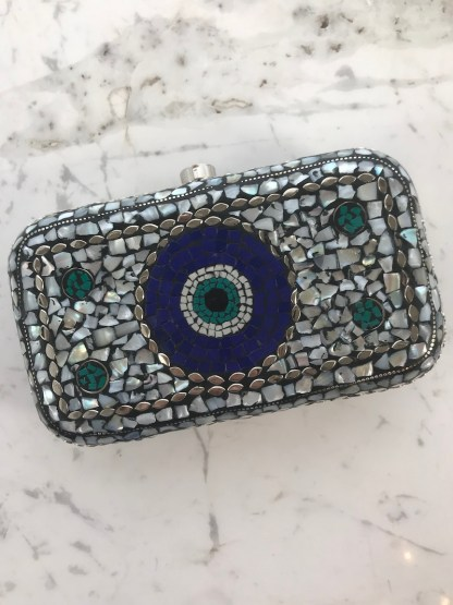 Mosaic Purse White Stone Alt3