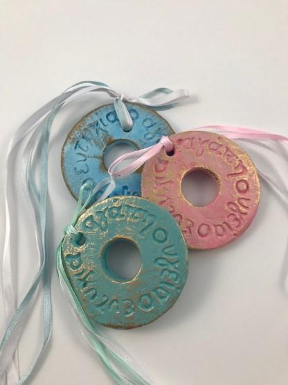 Good Wishes Ceramic Charm