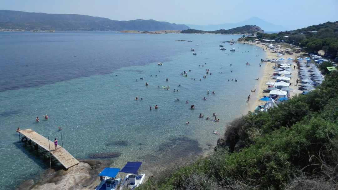 Ammouliani Megali Ammos Beach
