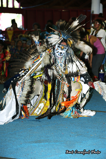 Josh Bear  Tsuu Tina Powwow 2012  Ammsacom