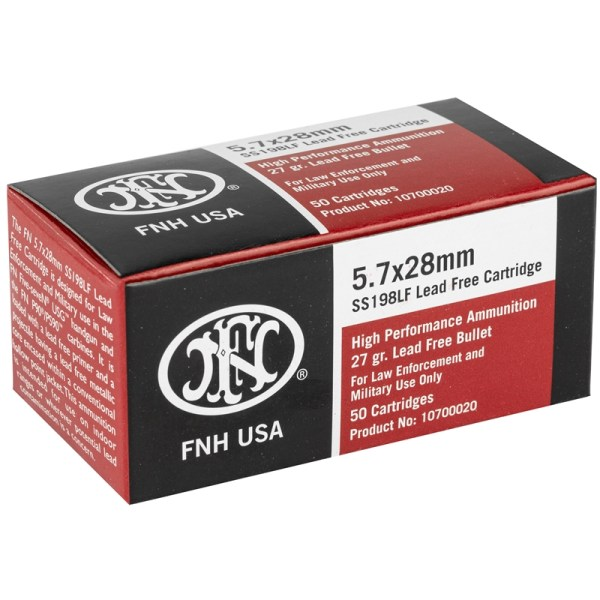 Buy Federal FNH 5.7x28mm Jacketed Hollow Point Online