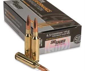 Buy SIG SAUER Elite Match Grade 6.5mm Creedmoor With Credit Card Online