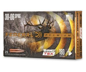 Buy Federal Premium Barnes TSX 30-06 Springfield Triple-Shock X HP 180 Grain Online