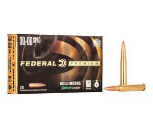 Buy Federal Premium Gold Medal 30-06 Springfield Sierra MatchKing BTHP 168 Grain Online