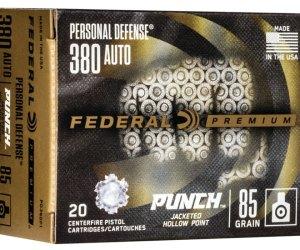 Buy Federal Premium Handgun ammo 380 ACP Jacketed Hollow Point Online