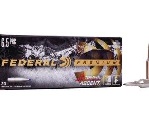 Buy Federal Premium TERMINAL ASCENT 6.5 PRC 130 grain Online
