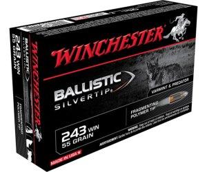 Buy Winchester BALLISTIC SILVERTIP 243 Win 55 grain FP Tip Online