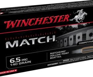 Winchester Match 6.5 PRC 140 Grain Boattail HP for sale