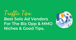 Best Solo Ad Vendors For The Biz Opp & MMO Niches & Good Tips
