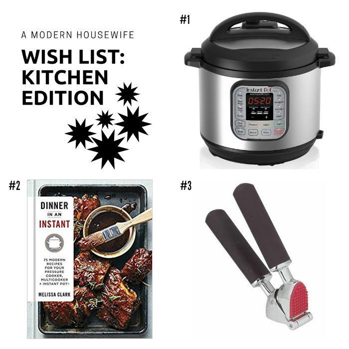 AMHW Wish List kitchen 2017