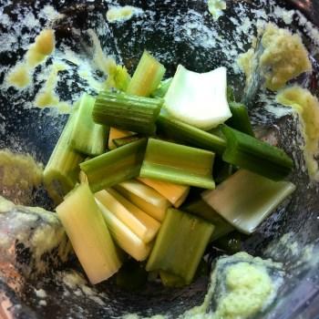 celery in blender