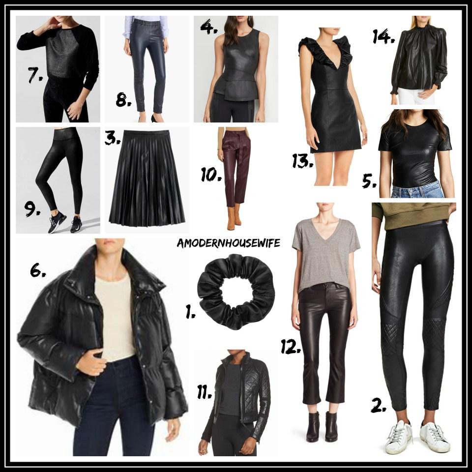 Fall Fashion Leather