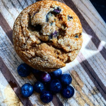Banana-Blueberry-muffins