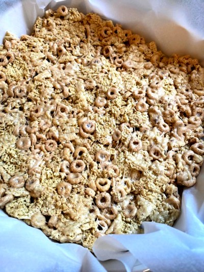 brown butter cereal bars