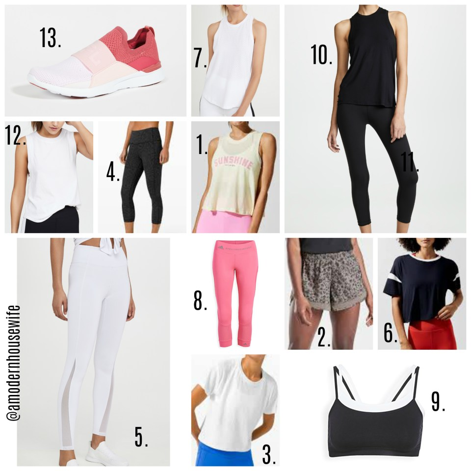 SUMMER FASHION Workout Gear