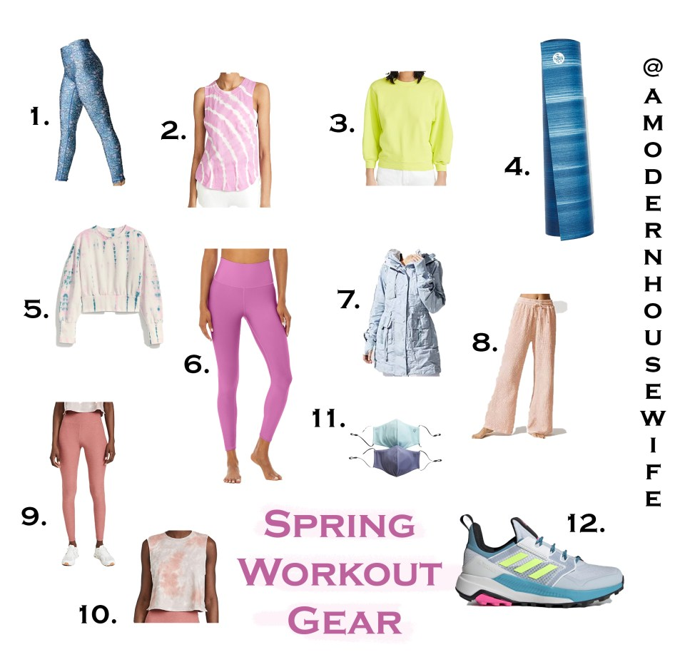 SPRING WORKOUT GEAR