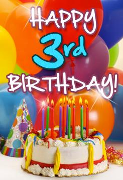 Happy 3rd Birthday Brit Mums finalist