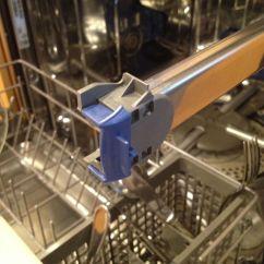 Kitchen Aid Dishwasher Repair Backsplash Design Ideas Kitchenaid Upper Rack Roller | A Modern Polymath