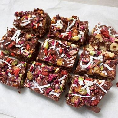 Rocky Road, Jessica Sepel, dessert recipes, sweet recipes