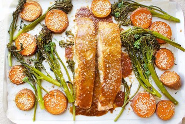 Salmon recipe, one pan dinner, Jessica Sepel