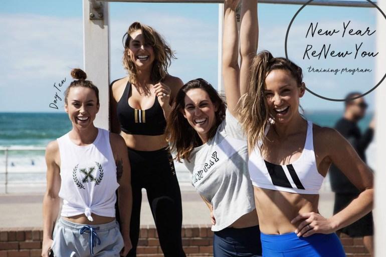 BUF Girls and Amodrn training program, strength workout