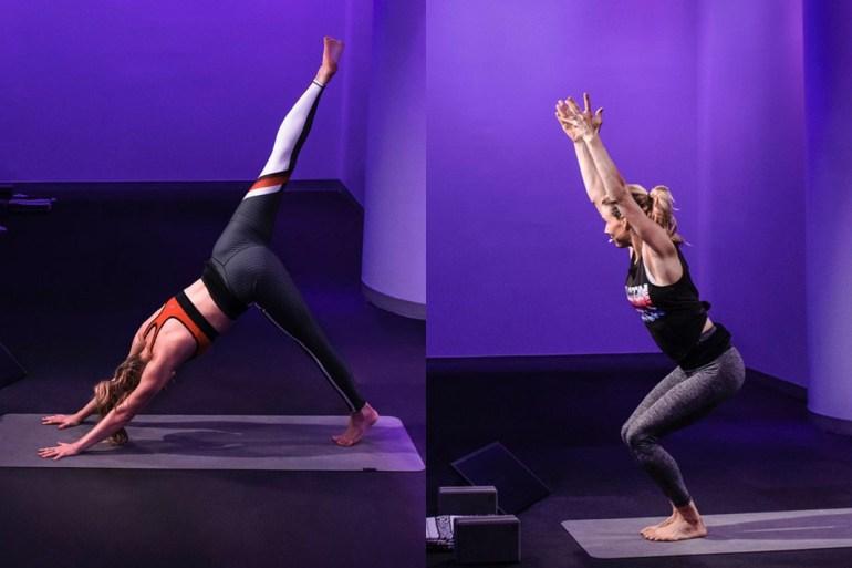 peleton yoga