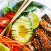 asian-style tofu bowl recipe