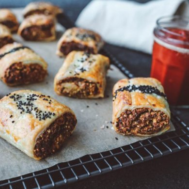 keira rumble sausage roll recipe