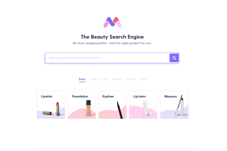 new beauty app mira
