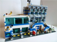MOC: Police Headquarters - LEGO Town - Eurobricks Forums