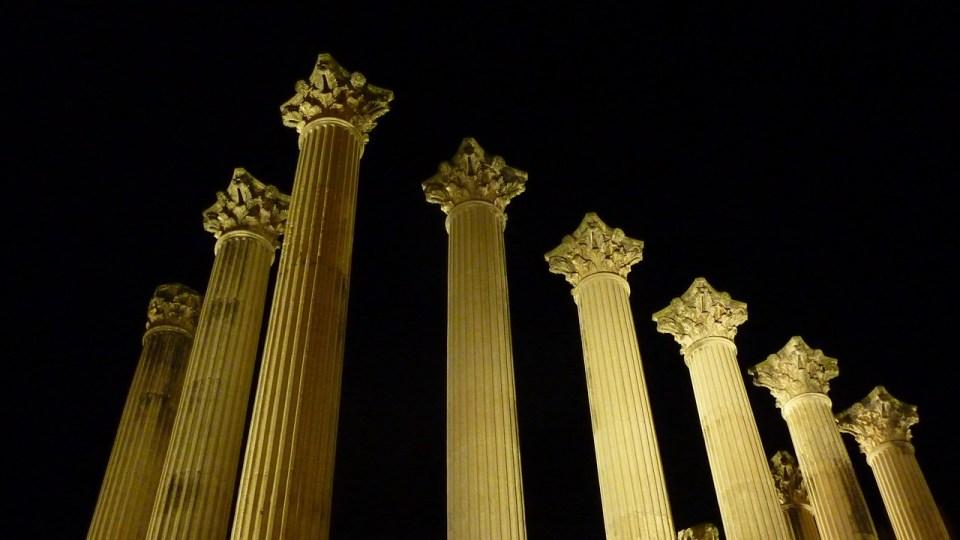 visitar templo romano cordoba