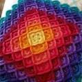 2 Lindos Tapetes de Crochê Retangular para Inspiração