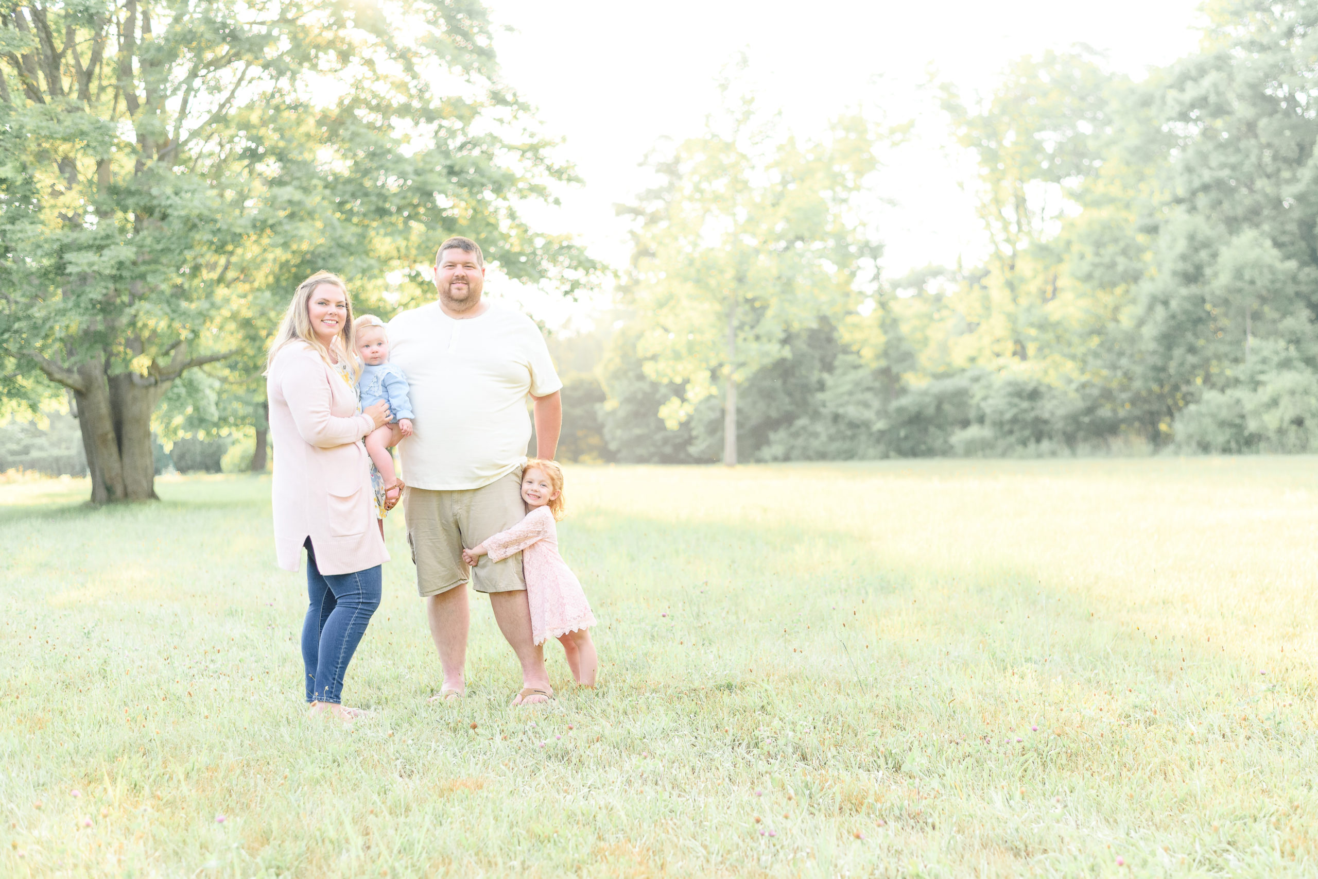 Spring color palette outfit inspiration for family photos